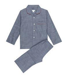 Harrods Of London Plain Cotton Pyjamas Pajama | Underwear, Sleepwear and Clothing