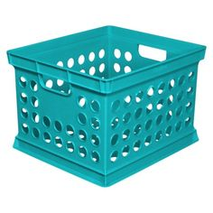 Room Essentials™ Milk Crate - Turquoise