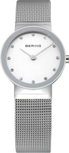 This ladies Bering watch has a stainless steel case, set around a silver dial, featuring Swarovski crystal markers and sapphire glass. A stainless steel mesh band completes the look. Mesh Bracelet, Bracelet Watch, Ingersoll Watches, Fashion Jewelry Stores, Mesh Band, Casual Watches, Classic Collection, Stainless Steel Watch, Swarovski Crystals