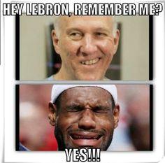 spurs why did u beat this team. u know lebron cries. U-U shame. but i feel sorry