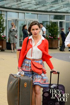 Live your life as fully as possible. Broaden your horizons and travel far. Carry with you just three things: spontaneity, an open heart, and an unyielding thirst for a new perspective. You never know where it might lead. | Me Before You in cinemas June 3.