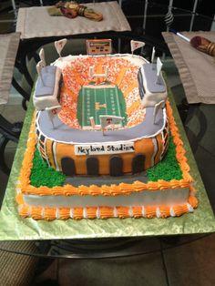 Neyland Stadium Cake - Another View