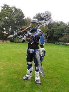 Picture of Mjolnir Mk. V (Pepakura Halo Armour)