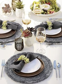 215 Best Set The Table Images In 2020 Crate Barrel