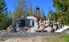 Earth sauna by Keko-Saunat