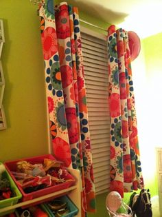 DIY: How I made no-sew curtains 's