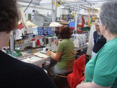 Bernina Factory Tour, Bernina Creative Centre on the shores of Lake Constance, Switzerland
