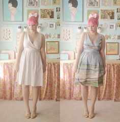 Scathingly Brilliant: DIY: anthropologie landscape dress