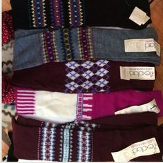VINTAGE Leg warmers- u pick 2! 1st come/1st serve A HUGE VARIETY OF Vintage NWOT and NWT leg warmers from estate sale purchase. Made by Danskin, Flextard, Amity, and other generic 80's manufacturers that we have never heard of.ONE SIZE FITS ALL.  * first come, first serve* please let me know what color/pattern you choose for your 2 sets of leg warmers! Danskin Accessories