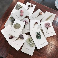 Isn't this a great original idea to give your wedding guest to remember this day by? Fleurs Diy, Ideias Diy, Flower Aesthetic, Flower Cards, Gift Flowers, Dried Flowers, Diy Gifts, Diy And Crafts, Wedding Invitations