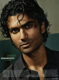 """Sendil Ramamurthy, who played Mohinder on """"Heroes"""". (Also my personal head-canon for """"Perfect Carlos"""" from Night Vale.)"""
