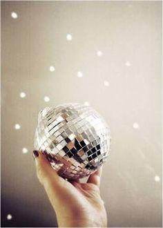 disco / sparkles / happy new year