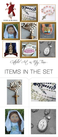 """Catholic gifts on Etsy - Volume 8"" by terrytiles2014 on Polyvore featuring arte, etsy, art, catholic e religious"