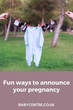 Here are some ideas from BabyCentre parents on how to make the big announcement. Pregnancy Announcements, Baby Center, Parents, Big, Ideas, Dads, Raising Kids, Parenting Humor, Thoughts