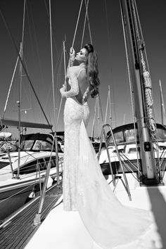 Feast your eyes on these Sexy Backless Wedding Dresses and Gowns for 2013 from Galia Lahav's Sexy Haute Couture Bridal Collection. Wedding Dress 2013, Open Back Wedding Dress, Backless Wedding, Wedding Gowns, Lace Wedding, Backless Gown, Wedding Beach, Mermaid Wedding, Wedding Bride