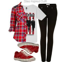 """""""Stiles Inspired Outfit"""" by veterization on Polyvore"""