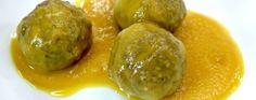 ALBÓNDIGAS EN SALSA Fresco, Robin Food, Salsa, Pickles, Cucumber, Main Dishes, Dining, Recipes, Kitchen Gadgets