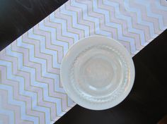 Pink, Gold & White Chevron Table Runner, Gold and Pink Chevron, Modern Table Runner for Showers, Wed Chevron Table Runners, Modern Table Runners, Fabric Ribbon, Ribbon Bows, Pink And Gold, Blush Pink, Free Fabric Samples, Zig Zag Pattern, Party Time