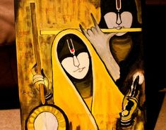 mural:Painting Beautiful Mural Painting On Canvas Meera Bai N Shree Krishna On Canvas Inspirational How To Make Mural Painting On Canvas Awe Inspiring Indian Mural Painting On Canvas Engaging How To Make Mu Mural Painting On Canvas Oil On Canvas, Canvas Art, Free Manga Online, Fusion Art, Jai Shree Krishna, Happy Holi, Mural Painting, Daily Devotional, Ganesha