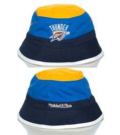 MITCHELL AND NESS OKLAHOMA CITY THUNDER NBA BUCKET HAT-4f8LoxgW Thunder Nba 0065084d8de8