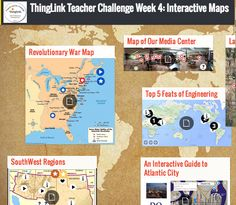 Cool Tools for 21st Century Learners: A Collection of Interactive Maps