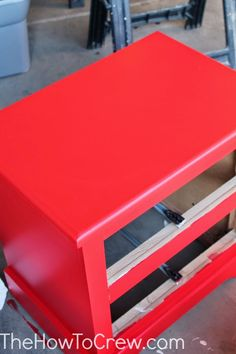 How To Paint Laminate Furniture (Without Sanding!) | Family, Food, Fun.