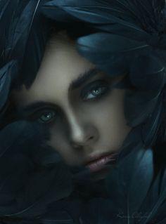 """""""Raven Queen""""  md: Eva ph: Ksenia Alizabal"""