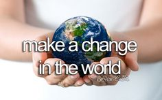 Make a Difference!! <3