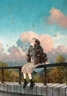 47 images about Diary dog forest girl on We Heart It Art And Illustration, Cartoon Kunst, Cartoon Art, Forest Girl, Anime Art Girl, Manga Girl, Anime Girls, Girl Cartoon, Aesthetic Art