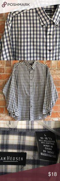 Classy Men's Casual Dress Shirt NWOT This shirt is like new. In EUC. No rips stains or tears. It is true to size. Van Heusen Shirts Casual Button Down Shirts