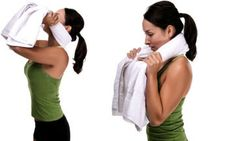 Neck Towel-Place rolled towel around your neck, and hold ends with hands. Slowly look up as far as you can, rolling your head over the towel. Apply gentle pressure on towel to support cervical spine as you extend head back. Do not hold the position. Instead, return to starting position. Repeat 10 times.