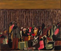 Jacob Lawrence Migration, 1947 Fine Arts Museums of San Francisco African American Artist, American Artists, Jacob Lawrence Art, Harlem Renaissance Artists, The Painted Veil, Virtual Art, Famous Art, Black Artists, Museum Of Fine Arts