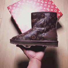 7f19975209e06 UGG  LV   Supreme Women Fashion 2018 Boots Supreme Clothing