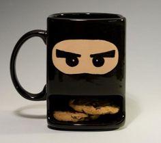 nobody better take my cookies   or it's hi-yah!