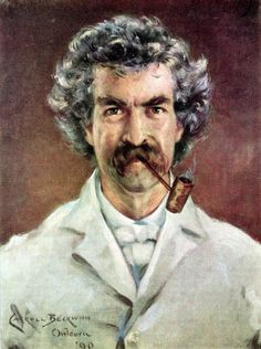 Mark Twain || painting