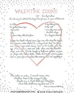 Valentine Cookie | Susan Branch Blog
