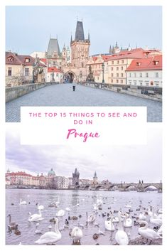 It has always been my dream to wander around the jaw dropping streets of Prague. Prague is one of those cities that literally captures all of your heart and leaves you wanting to explore more. If this is not convincing enough to put Prague on your bucket list, than continue reading on the top things to do and see in this one of a kind city! #prague #pragueczechrepublic #charlesbridge #praha #praguecastle #oldtownprague #czechrepublic #malastrana #dancinghouseprague