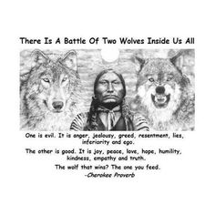 We all come to a point sometimes where things are difficult, but then remember and try to look at it with different eyes and feed the right wolf, for yourself, be gentle... #loveyourself #feedyourmindwithlove