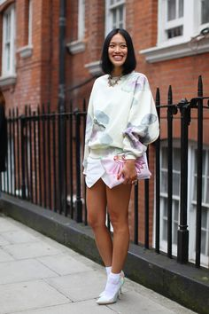 Tiffany Hsu; Style-pics on the streets of London | Never Underdressed