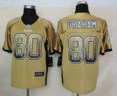 Nike New Orleans Saints  80 Jimmy Graham 2013 Drift Fashion Gold Elite  Jersey Jimmy Graham 7b3953294