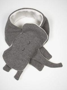 Kid's Elephant Scarf by Yohi & Olivia
