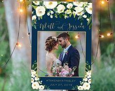 Wedding Photo Prop Navy and gold wedding photo booth frame Photos Booth, Photo Booth Frame, Wedding Photo Props, Wedding Photos, Wedding Ideas, Wedding Stuff, Wedding Gifts, Wedding Inspiration, Wedding Frames