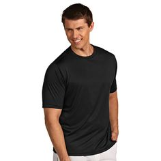 Men's Antigua Ace Tee, Size: Small, Black