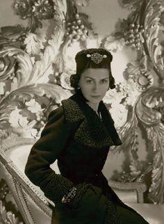 Horst P.Horst, Portrait of Mademoiselle Chanel, Paris, 1937, (c) Conde Nast/Corbis