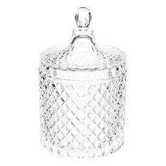 Exquisite Glass Cardinal peque/ño Decorativo de Cristal Candy//baratija Caja