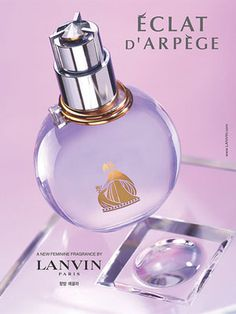 Lanvin Eclat d'Arpege Perfume - The Perfume Girl. Fragrances and colognes from fashion houses and perfume designers. Scent resources, perfume database, and campaign ad photos. Perfume Diesel, Best Perfume, Perfume Bottles, Lanvin Perfume, Perfume Making, Cosmetics & Perfume, Soaps, Body Butter, Eau De Toilette