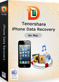 30% Off - Tenorshare iPhone Data Recovery for Mac. Recover various file types: contacts, call history, photos, text messages, etc. Extract iTunes backup file to recover data when iPhone is broken or lost. Recover lost files directly from iPhone, iPad, iPod without backup file. Backup and transfer iPhone files to Mac. The worlds 1st iPhone data recovery for iPhone 5, iPhone 4S. Compatible with Mac OS X 10.8 (Mountain Lion), 10.7, 10.6, and etc.