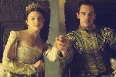 Henry VIII and Anne Boleyn (Natalie Dormer) in The Tudors - 2007