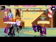 New Mugen MAD - Dreamy Rainbow and Nightmare Twilight Sparkle vs Nightma...