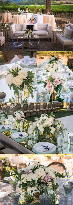 Photo: Viera Photographics; Wedding reception idea;